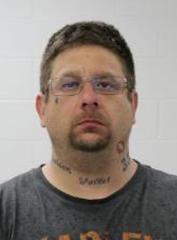 Jason Paul Rodriguez, 40, shown in a mugshot.