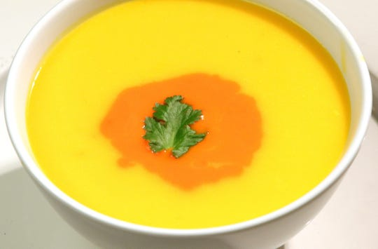Carrot and Red Pepper soup