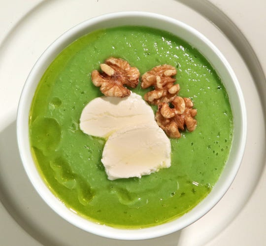 Gordon Ramsay's Broccoli soup.