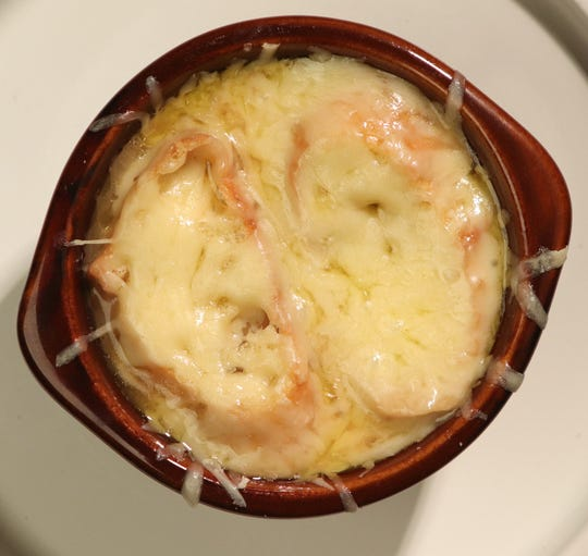 Parisian Onion soup.