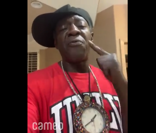Flavor Flav was recently enlisted by Evansville church The Hills to promote the church's upcoming Easter services.
