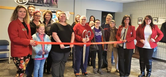 The Sandusky County Chamber of Commerce participated with a ribbon cutting at the Fremont Community Theatre on March 4.