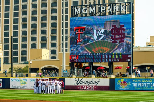 Mississippi State swept Texas Tech in a two-game series at MGM Park in Biloxi.