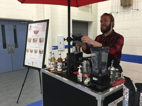 Adam Kennedy of Refill Coffee Cart returns to the Winter Farmers' Market on Sat., March 14.