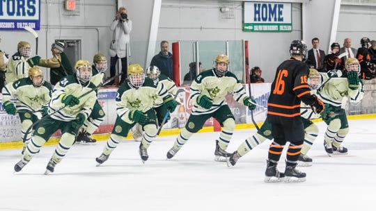 Howell's hockey team was scheduled to play in its first state semifinal since 2010 before the MHSAA suspended its tournaments.