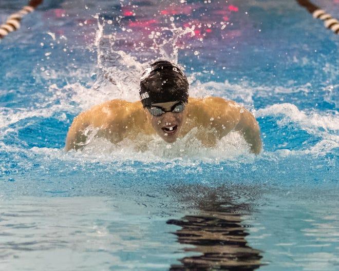 Erik Bolang set Pinckney's 200-yard individual medley and 100 butterfly records this season.