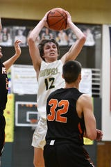 Howell's Tony Honkala scored a game-high 12 points in a 54-27 victory over Fenton in a district semifinal basketball game on Wednesday, March 11, 2020.
