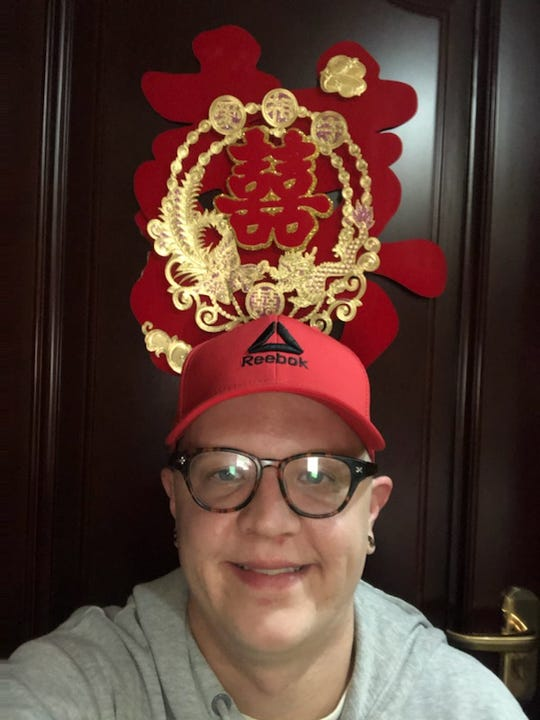 Louisville native Andrew Anderson has been quarantined in China.