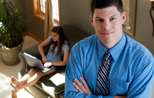 Dr. Justin W. Patchin (pictured), a professor at UW-Eau Claire, is co-director of the Cyberbullying Research Center.