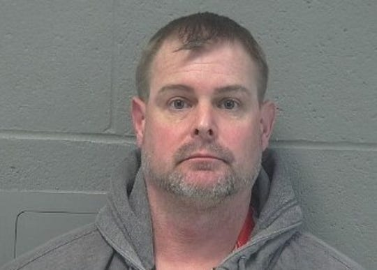 Benjamin Brubach was arrested Wednesday after bomb-making materials were found at a house west of Shelby.