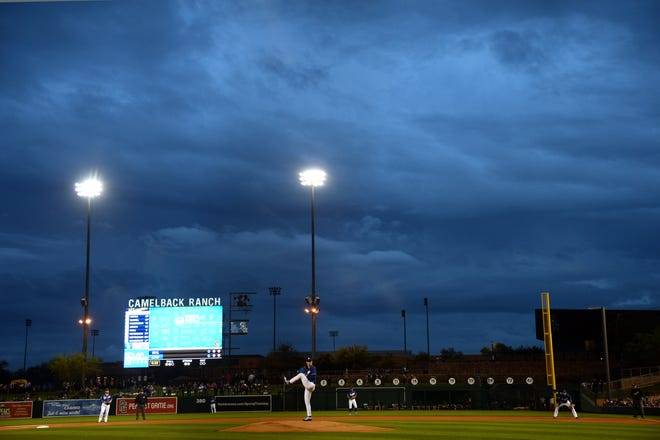 The Brewers played Wednesday night against the Dodgers in what might have been their final game of Cactus League.