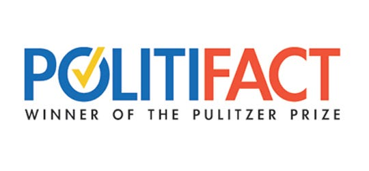 Politifact is a nonprofit news organization focused on providing transparent, fairn, thorough reporting and clear writing. Politifact partners with the Milwaukee Journal Sentinel.