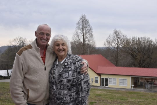 Don and Marsha Borgeson opened the Bluff Creek Farms Bed & Breakfast on Highway 49 West in Ashland City.