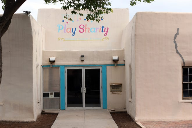Play Sharity Children's Museum and Lending Library at 301 S. Tin Street in Deming, NM. The museum has interactive exhibits and an educational toy-lending library. Parents must be accompanied by a child. Visit playsharity.org.