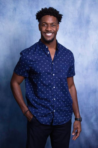"Demar Jackson, a spin instructor in Scottsdale, from Season 16 of ""The Bachelorette"" with Clare Crawley."