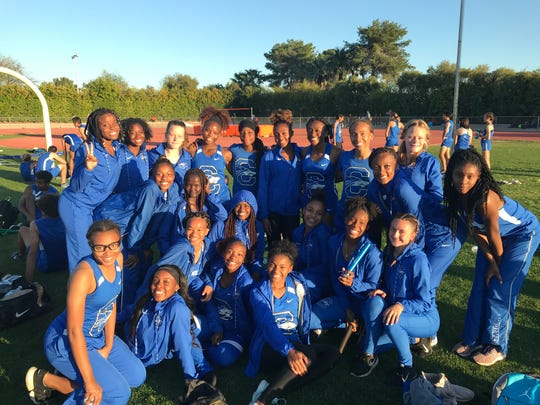 Chandler girls track and field team