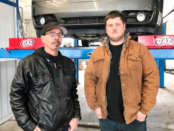 Albert Stadnik, Mirror Image's CEO, and Kevin Adolph, owner of Kevin's Auto and Truck Repair, recently opened a location at 1554 24th St. in Port Huron.