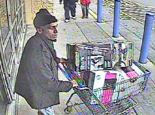 Springettsbury Township Police are seeking to identify a man in reference to a retail theft, vehicle theft and hit-and-run.