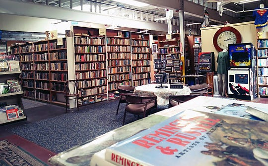 """York Emporium used book store, at 343 West Market Street, York City. The store will be hosting """"Non-Toxic,"""" a dry bar experience with food, entertainment and mocktails from 8 p.m. to midnight on Saturday, March 14."""