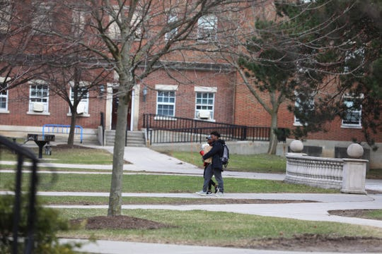 Students who didn't go away for spring break prepare to pack up their rooms and leave on March 12, 2020.  University of Rochester is now having students who can move off campus and go home and take their courses online for the rest of the year.