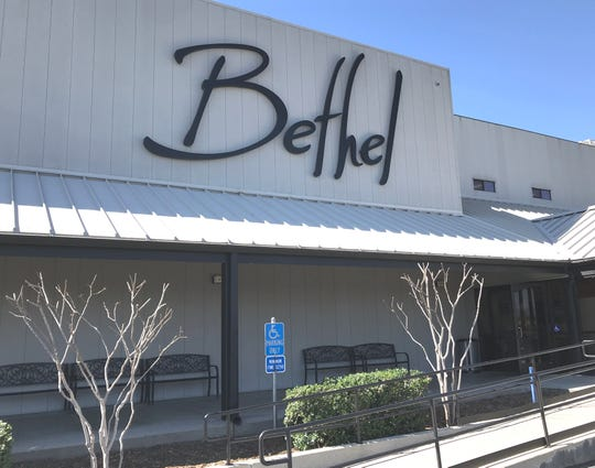 Bethel Church on College View Drive in Redding.