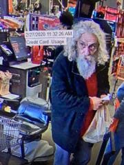 A theft was reported on Feb. 27, 2020, at Home Depot located in the 100 block of East Bert Kouns.