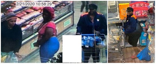 A theft was reported on Feb. 21, 2020, at the Walmart located in the 1600 block of East Bert Kouns in Shreveport.