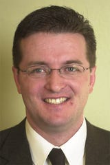 2003 picture of then-Sen. Dan Sutton.