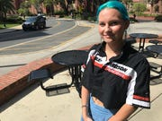 FSU student Sara Coutts