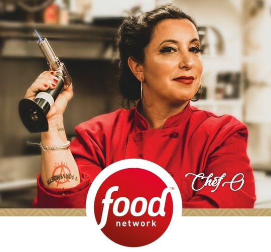 Stuart Chef Olivia Binn Ostrow competed in Guy's Grocery Games on the Food Network.