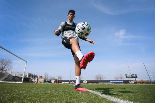 FC Dallas forward Ricardo Pepi Wednesday, March 11, at Toyota Soccer Center in Frisco.