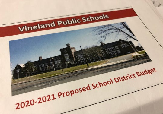 Vineland Public Schools 2020-2021 budget