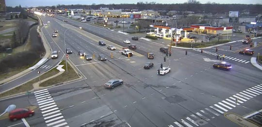 A crash on Concord Pike has caused road closures Thursday morning.