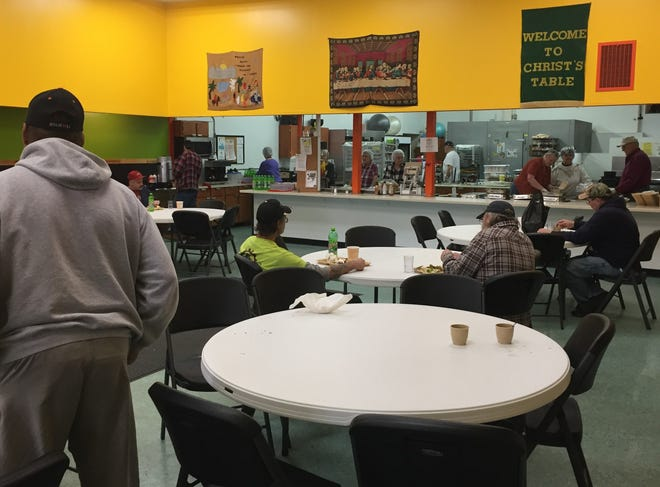Keely Warden said Thursday, she is concerned that the number of children who will be seeking meals at Christ's Table is going to greatly increase as Governor Mike DeWine as announced all schools will close for the next three weeks.