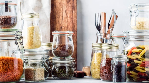 You'll need to stock your pantry with dry good during a self-quarantine.