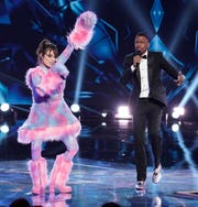 """Sarah Palin was revealed as the costumed Bear on Fox hit """"The Masked Singer"""" on March 11, just as the NBA season was canceled, Tom Hanks announced his COVID-19 diagnosis and all hell broke loose."""