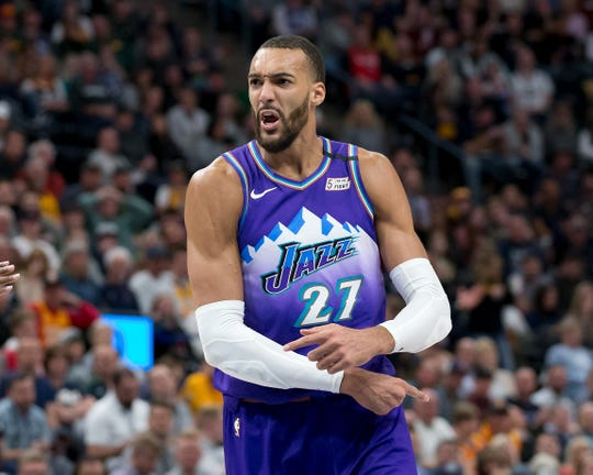 Rudy Gobert tested positive for COVID-19 before the Jazz-Thunder game was scheduled to start.
