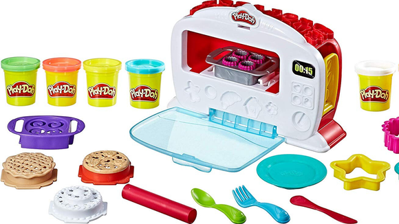 The Play-Doh kitchen is reasonably priced and provides hours of fun.