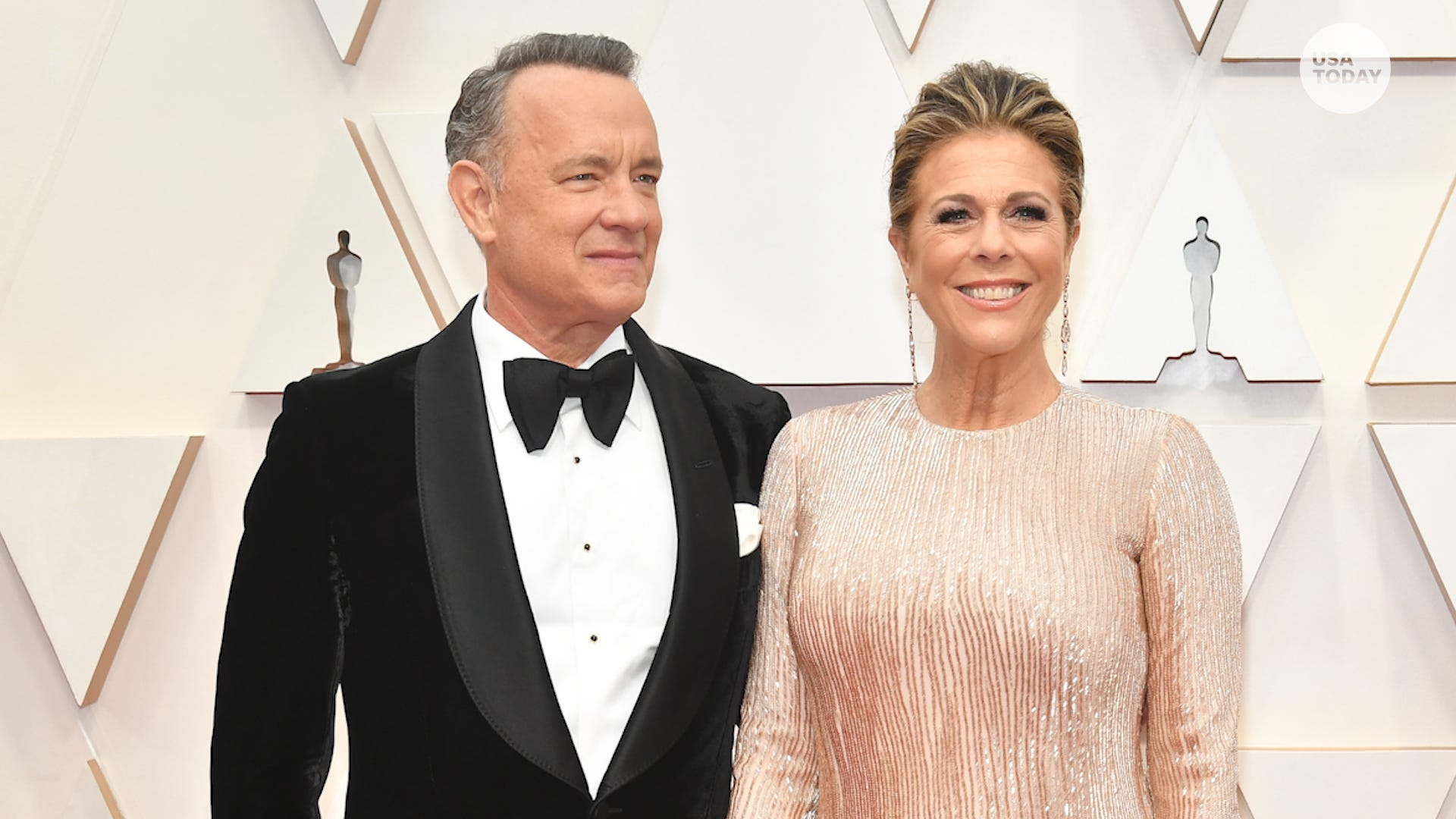 Rita Wilson says she is a  COVID-19 survivor  after Tom Hanks announces their return to US