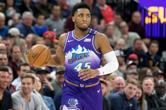 Donovan Mitchell is the second NBA player to test positive for coronavirus.