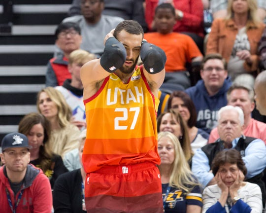 Rudy Gobert was the first NBA player to test positive for the coronavirus.