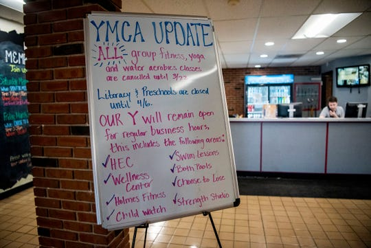 Group classes at the YMCA in Battle Creek, Mich. are cancelled until March 22, however, the Health Enhancement Center and Wellness Center will remain open for regular business hours.