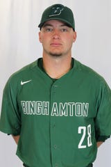 T.J. Wegmann, Binghamton University senior from Apalachin.