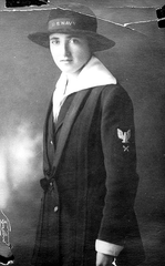 Chief Yeoman Margaret Mary Fitzgerald, just 19, worked through the Spanish flu pandemic at the Puget Sound Naval Shipyard's hospital.