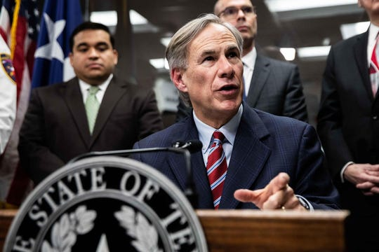Gov. Greg Abbott is scheduled to speak on the coronavirus in Texas at a noon conference in Austin.