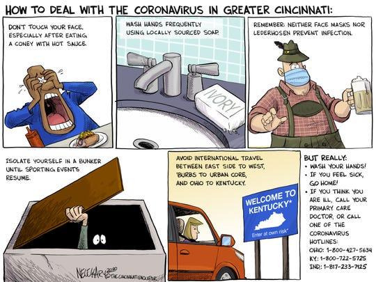 How to deal with the coronavirus in Greater Cincinnati