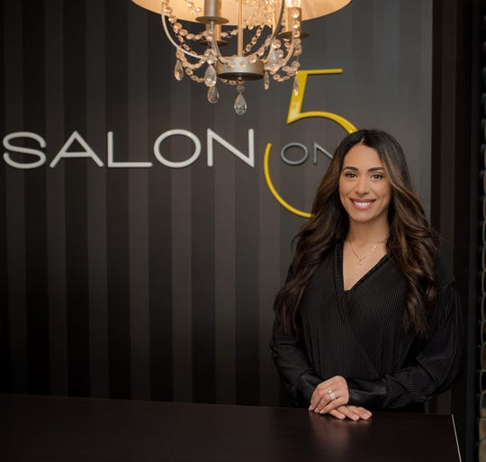 Salon On 5 owner Diana Sayah keeps an extra clean shop to reassure customers during coronavirus outbreak.