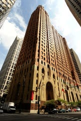 Detroit's historic Guardian Building, home of Wayne County's administrative offices.
