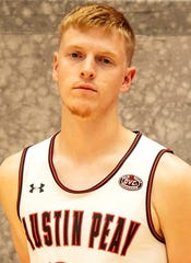 Former Memorial standout Sam DeVault has entered the transfer portal after his freshman season at Austin Peay State.
