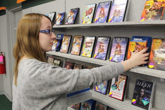 Movies could be a popular option to avoid crowds during the coronavirus outbreak. Jennifer Frederick, manager at Family Video, 1818 W. State St., said every video case is wiped clean for customers' safety.